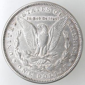 reverse: USA. Dollaro Morgan 1881 Philadelphia. Ag.