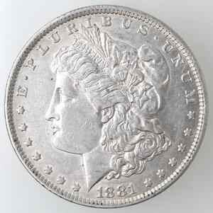 obverse: USA. Dollaro Morgan 1881 O. Ag.