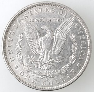 reverse: USA. Dollaro Morgan 1881 O. Ag.