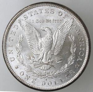 reverse: USA. Dollaro Morgan 1881 S. Ag.