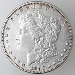 obverse: USA. Dollaro Morgan 1882 Philadelphia. Ag.
