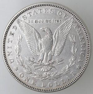 reverse: USA. Dollaro Morgan 1882 Philadelphia. Ag.