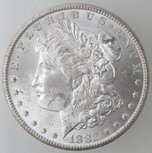 obverse: USA. Dollaro Morgan 1882 CC. Ag.