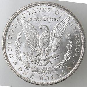 reverse: USA. Dollaro Morgan 1882 CC. Ag.