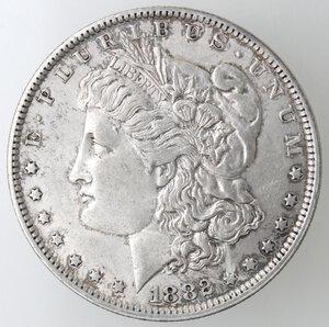 obverse: USA. Dollaro Morgan 1882 O. Ag.