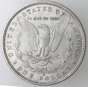 reverse: USA. Dollaro Morgan 1882 O. Ag.