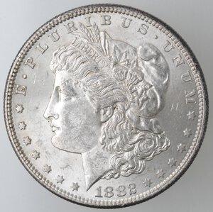 obverse: USA. Dollaro Morgan 1882 S. Ag.
