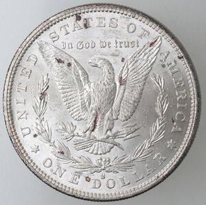 reverse: USA. Dollaro Morgan 1882 S. Ag.