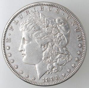 obverse: USA. Dollaro Morgan 1883 Philadelphia. Ag.