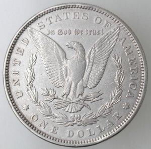 reverse: USA. Dollaro Morgan 1883 Philadelphia. Ag.