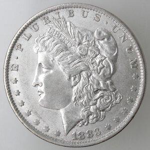 obverse: USA. Dollaro Morgan 1883 O. Ag.