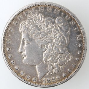 obverse: USA. Dollaro Morgan 1883 S. Ag.