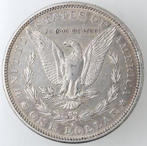 reverse: USA. Dollaro Morgan 1883 S. Ag.