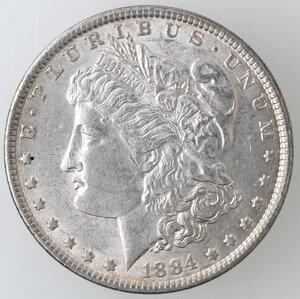 obverse: USA. Dollaro Morgan 1884 Philadelphia. Ag.