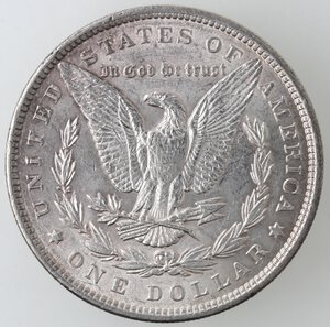 reverse: USA. Dollaro Morgan 1884 Philadelphia. Ag.
