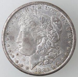 obverse: USA. Dollaro Morgan 1884 CC. Ag.