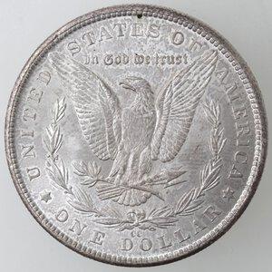 reverse: USA. Dollaro Morgan 1884 CC. Ag.
