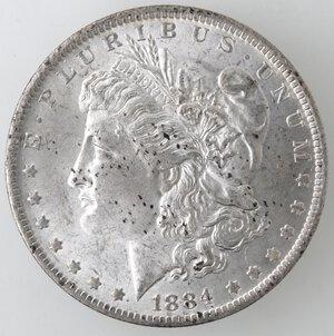 obverse: USA. Dollaro Morgan 1884 O. Ag.