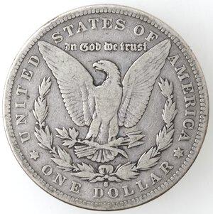 reverse: USA. Dollaro Morgan 1884 S. Ag.