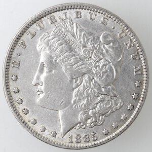 obverse: USA. Dollaro Morgan 1885. Philadelphia. Ag.