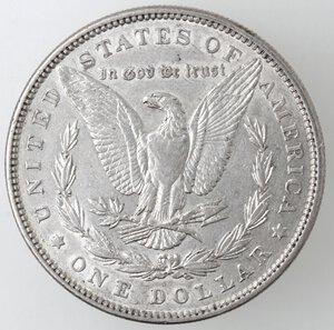reverse: USA. Dollaro Morgan 1885. Philadelphia. Ag.