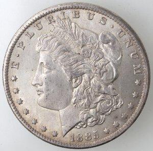 obverse: USA. Dollaro Morgan 1885 O. Ag.