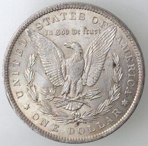 reverse: USA. Dollaro Morgan 1885 O. Ag.