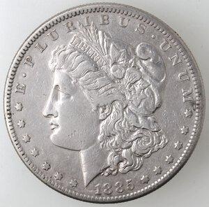 obverse: USA. Dollaro Morgan 1885 S. Ag.