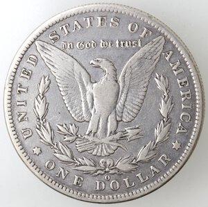 reverse: USA. Dollaro Morgan 1886 O. Ag.