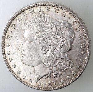 obverse: USA. Dollaro Morgan 1887 Philadelphia. Ag.