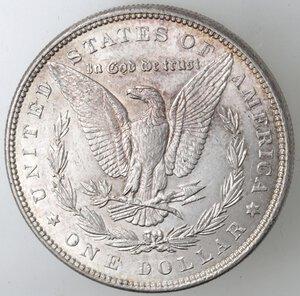 reverse: USA. Dollaro Morgan 1887 Philadelphia. Ag.