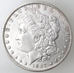 obverse: USA. Dollaro Morgan 1887 O. Ag.