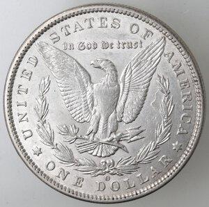 reverse: USA. Dollaro Morgan 1887 O. Ag.
