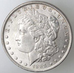obverse: USA. Dollaro Morgan 1888 Philadelphia. Ag.