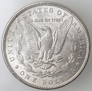 reverse: USA. Dollaro Morgan 1888 Philadelphia. Ag.