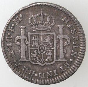 reverse: Messico. Carlo III. 1759-1788.Real 1775. Ag.