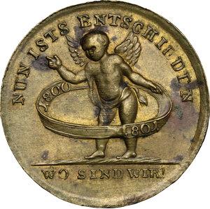 reverse: Austria.  Franz II/I (1792-1805-1835).. AE Medal, 1801