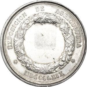 reverse: Chile. AR Medal, 1869