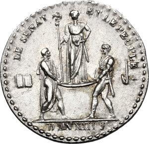 reverse: France.  Napoleon Bonaparte (1801-1815).. AR Medal, 1804-1805