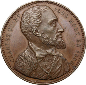obverse: France.  Charles V (1519-1556). AE Medal, early 19th century