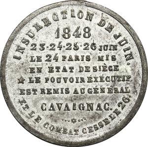reverse: France. WM medal 1848