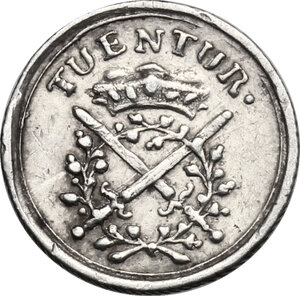 reverse: Germany.  Johann Georg III (1680-1691).. AR Medal, Saxony