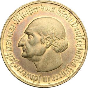 obverse: Germany. AE Token for 50 Million Marks, Westphalia, 1923