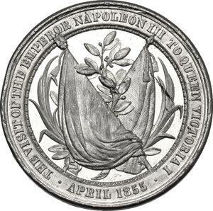 reverse: Great Britain.  Victoria (1837-1901).. WM Medal, 1855