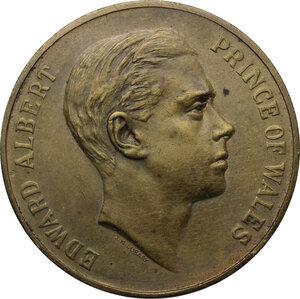 obverse: Great Britain.  Edward VIII (1894-1972).. AE Medal, 1925