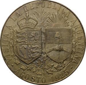reverse: Great Britain.  Edward VIII (1894-1972).. AE Medal, 1925