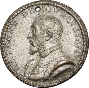obverse: Italy.. Tin Cast Medal, 17th century