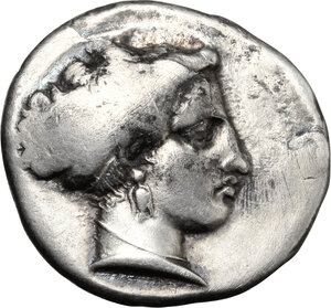 obverse: Central and Southern Campania, Neapolis. AR Stater, 300-260 BC