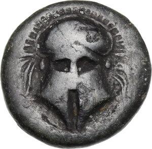 obverse: Thrace, Mesembria . AE 16 mm, 275-175 BC
