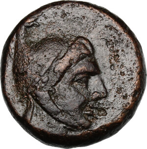 obverse: Pontos, Amisos.  Time of Mithradates VI Eupator (c. 85-65 BC).. AE 22.5 mm